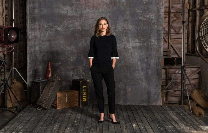 Masterclass video shoot with Natalie Portman on Sound Stage in Los Angeles