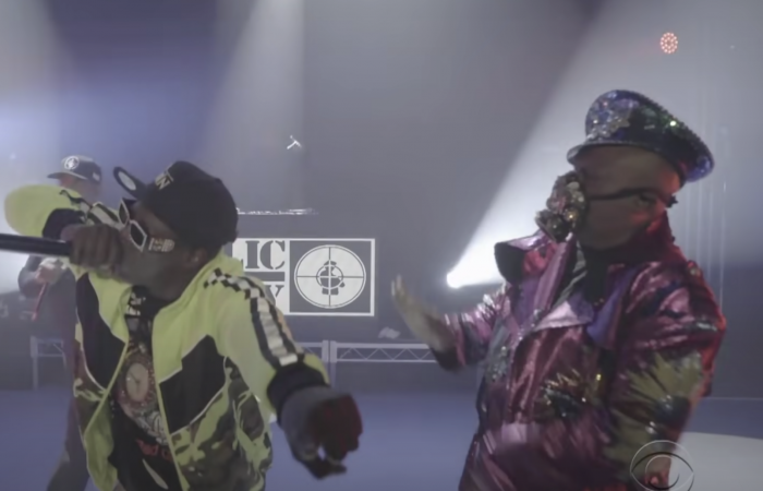 live performance with public enemy at event space rented in los angeles