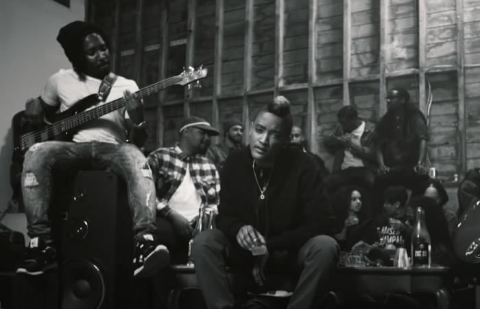 the internet special affair curse music video production studio shoot at mack sennett