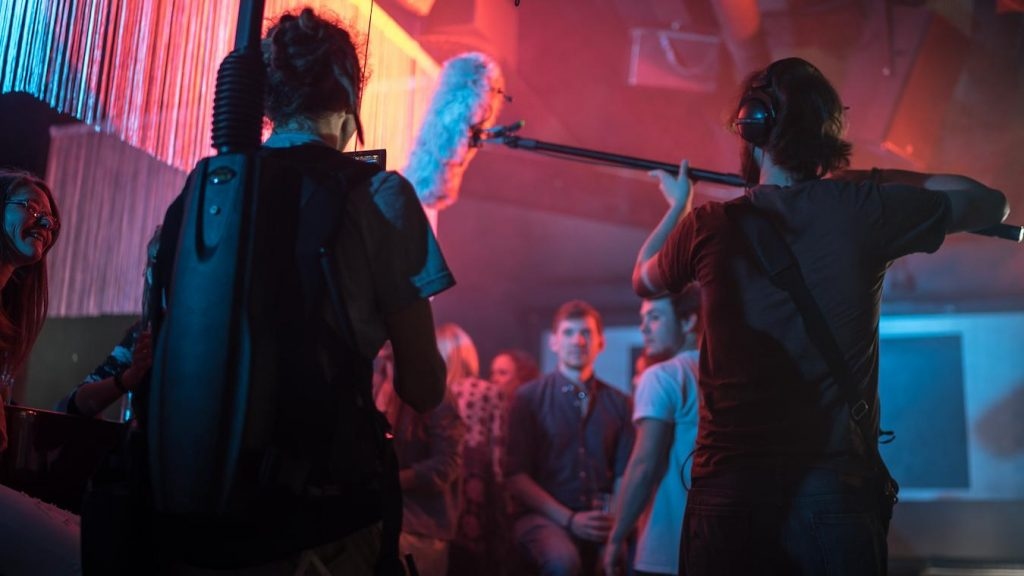 in a search for a soundstage light and sound are major considerations