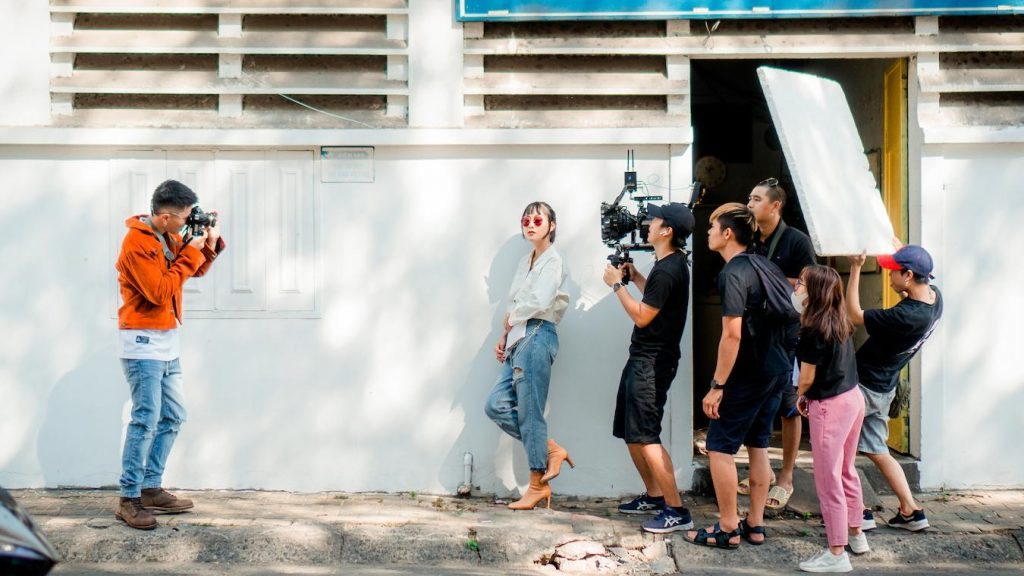 Working crew on a film set can enhance your directing skills later on