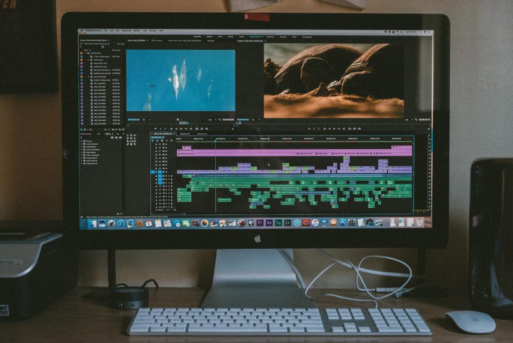 Compositing brings all of the digital and live elements together on a single screen