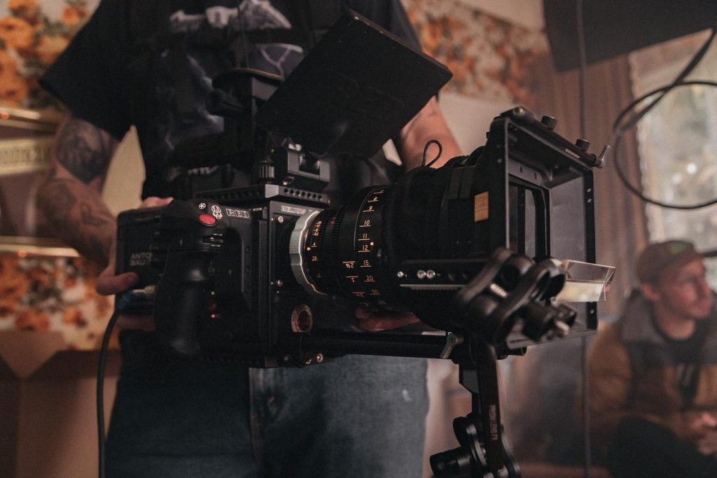 A film director needs to know how to operate film equipment